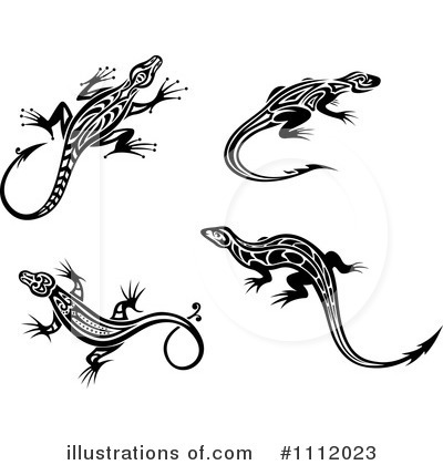 Lizard Clipart #1112023 by Vector Tradition SM
