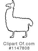 Royalty-Free (RF) llama Clipart Illustration #1147808