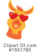 Royalty-Free (RF) Llama Clipart Illustration #1551780