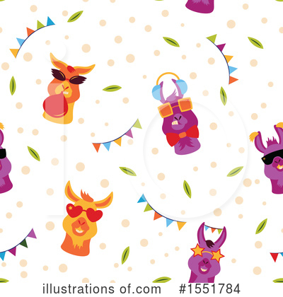 Royalty-Free (RF) Llama Clipart Illustration by Cherie Reve - Stock Sample #1551784