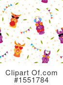 Royalty-Free (RF) Llama Clipart Illustration #1551784