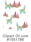 Royalty-Free (RF) Llama Clipart Illustration #1551786