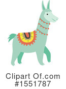 Royalty-Free (RF) Llama Clipart Illustration #1551787