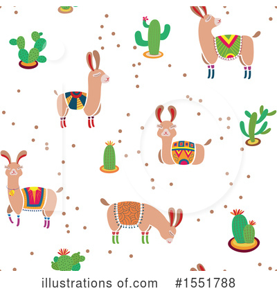 Royalty-Free (RF) Llama Clipart Illustration by Cherie Reve - Stock Sample #1551788
