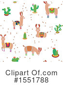 Royalty-Free (RF) Llama Clipart Illustration #1551788