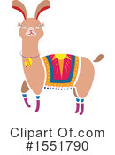 Royalty-Free (RF) Llama Clipart Illustration #1551790
