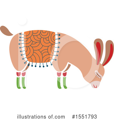 Llama Clipart #1551793 by Cherie Reve