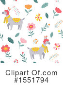 Royalty-Free (RF) Llama Clipart Illustration #1551794