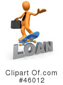 Royalty-Free (RF) Loan Clipart Illustration #46012