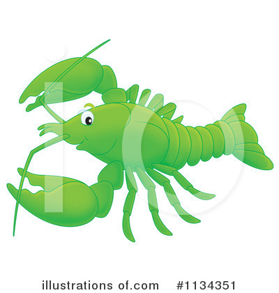 Crawdad Clipart #1134351 by Alex Bannykh
