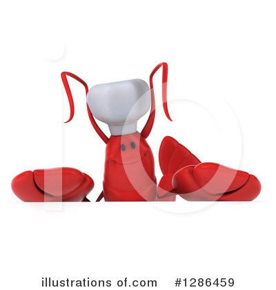 Royalty-Free (RF) Lobster Clipart Illustration by Julos - Stock Sample #1286459