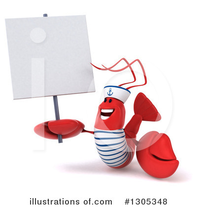 Lobster Clipart #1305348 by Julos