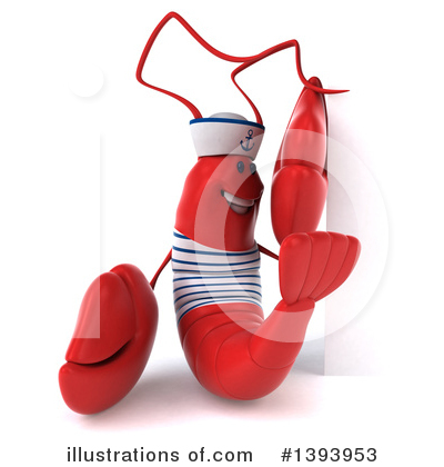 Sailor Lobster Clipart #1393953 by Julos