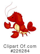 Lobster Clipart #226284 by BNP Design Studio