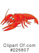 Lobster Clipart #226807 by Alex Bannykh