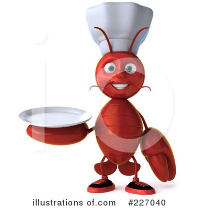 Lobster Clipart #227040 by Julos