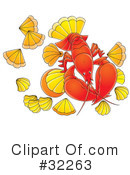 Lobster Clipart #32263 by Alex Bannykh