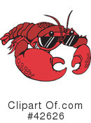 Lobster Clipart #42626 by Dennis Holmes Designs