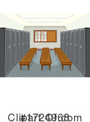 Lockers Clipart #1724968 by Graphics RF