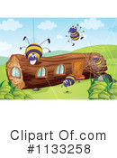 Royalty-Free (RF) Log Clipart Illustration #1133258