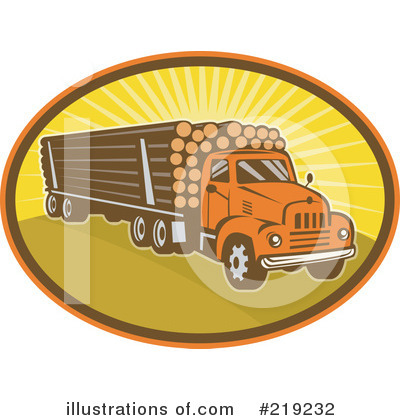 Trucking Clipart #219232 by patrimonio
