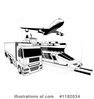 Logistics Clipart #1182034 by AtStockIllustration