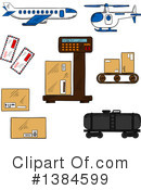 Logistics Clipart #1384599 by Vector Tradition SM