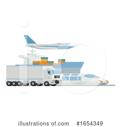 Royalty-Free (RF) Logistics Clipart Illustration by AtStockIllustration - Stock Sample #1654349
