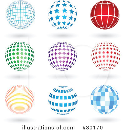 Sphere Clipart #30170 by KJ Pargeter