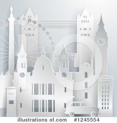 Royalty-Free (RF) London Clipart Illustration by Eugene - Stock Sample #1245554