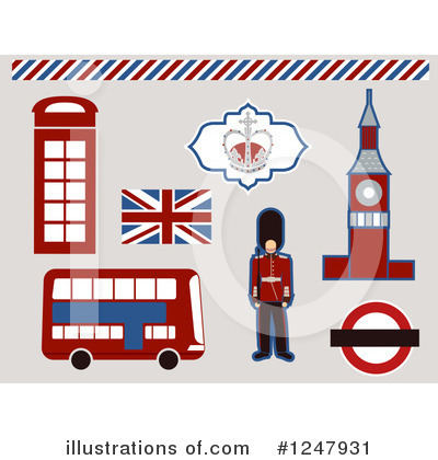 Beefeater Clipart #1247931 by BNP Design Studio