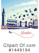 London Clipart #1449194 by Domenico Condello