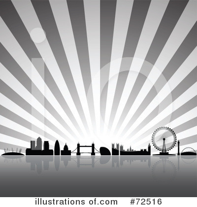 Royalty-Free (RF) London Clipart Illustration by cidepix - Stock Sample #72516