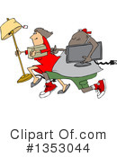 Royalty-Free (RF) Looting Clipart Illustration #1353044