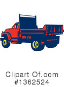 Royalty-Free (RF) Lorry Clipart Illustration #1362524