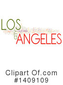 Los Angeles Clipart #1409109 by MacX