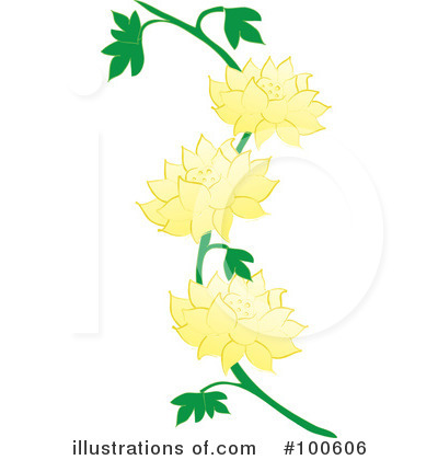 Lilies Clipart #100606 by Pams Clipart