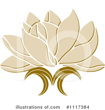 Lotus Clipart #1117384 by Lal Perera