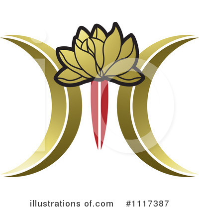 Lotus Clipart #1117387 by Lal Perera