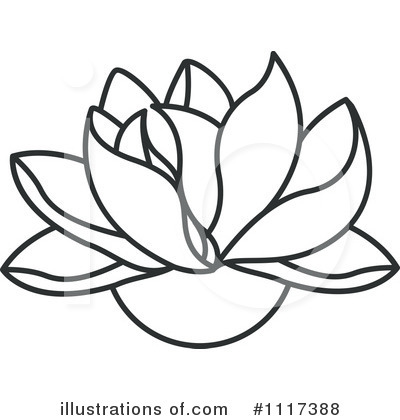 Lotus Clipart #1117388 by Lal Perera