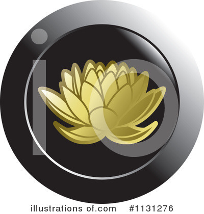 Lotus Clipart #1131276 by Lal Perera