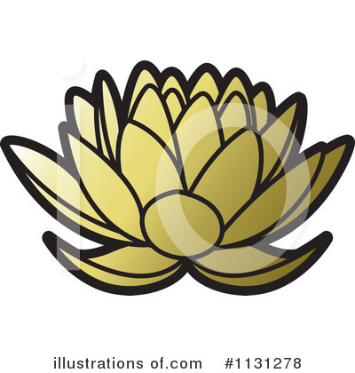 Lotus Clipart #1131278 by Lal Perera