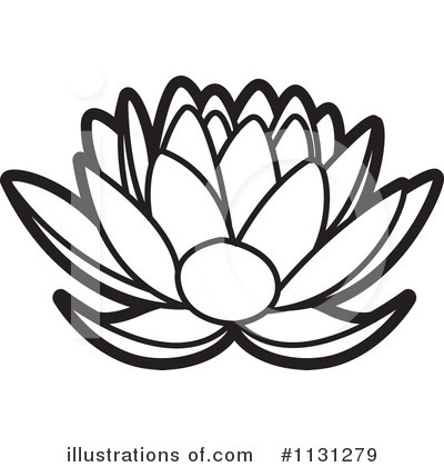 Lotus Clipart #1131279 by Lal Perera