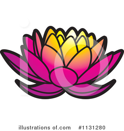Lotus Clipart #1131280 by Lal Perera