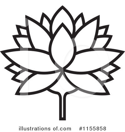 Lotus Clipart #1155858 by Lal Perera
