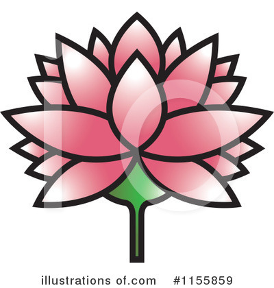 Lotus Clipart #1155859 by Lal Perera