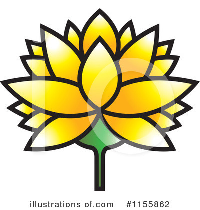 Lotus Clipart #1155862 by Lal Perera