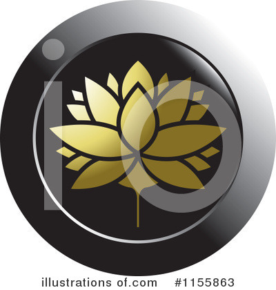 Lotus Clipart #1155863 by Lal Perera