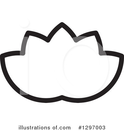 Lotus Clipart #1297003 by Lal Perera