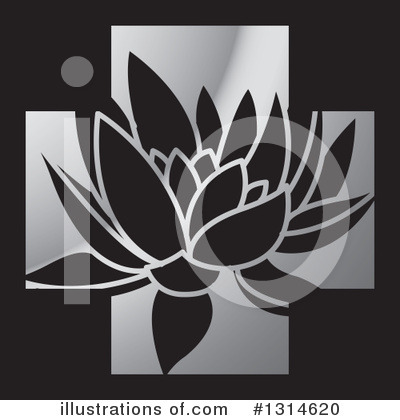 Lotus Clipart #1314620 by Lal Perera